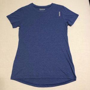 LIKE NEW Reebok Blue Running T Shirt - High Low